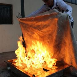 Couverture Anti-Feu Incendie