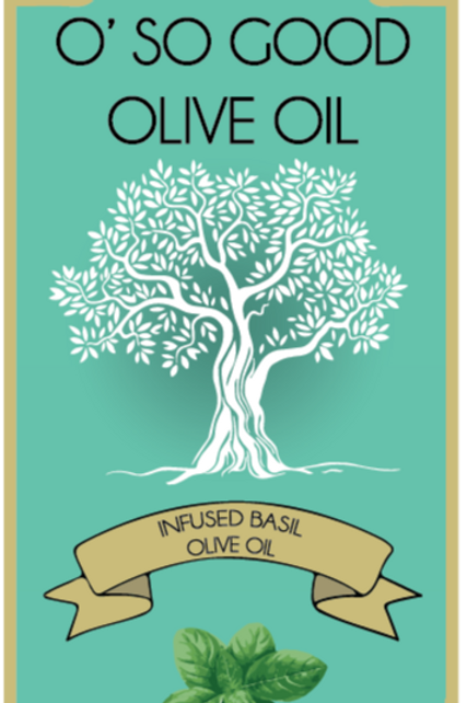 Infused Basil Extra Virgin Olive Oil