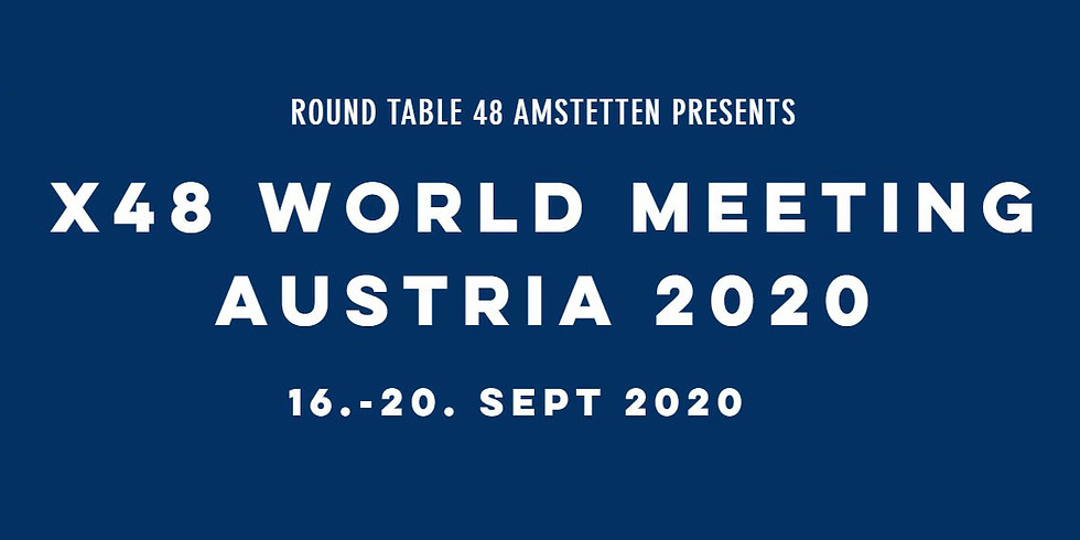 x48 World Meeting Austria 2020 - postponed caused to the COVIC-19 situation!