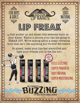 Counter Flyer for LIP FREAK