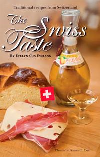 The Swiss Taste Cookbook Cover Design