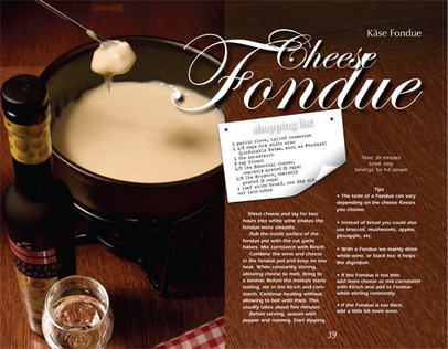 The Swiss Taste Cookbook Interior Page