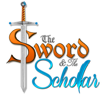 Logo: The Sword and the Scholar