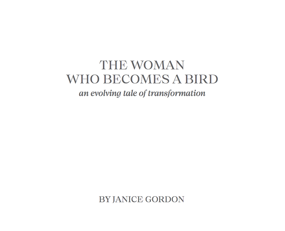 While in Mexico April, May and June, dedicating myself writing a book about my project The Woman Who Becomes A Bird