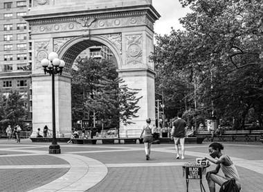 A walk in Washington Square Park