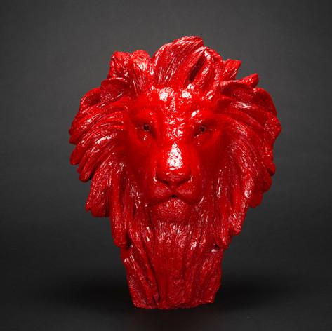Célestin, résine rouge