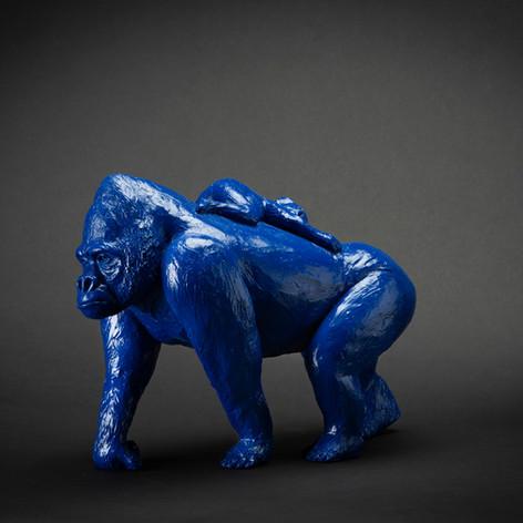 Anatole, résine bleu