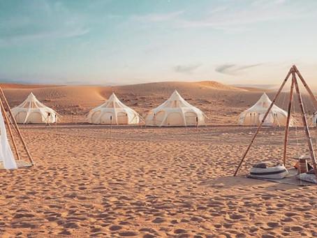 Notre Pop-up Glamping spécial desert
