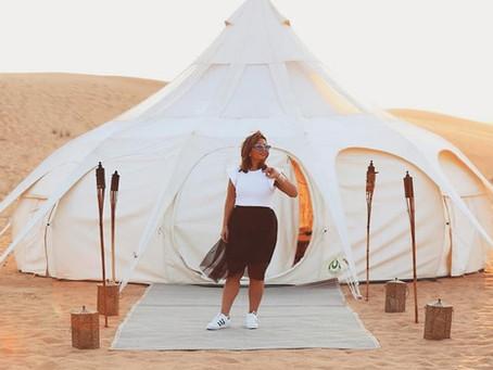 Découverte d'un Lotus Camp à Dubai
