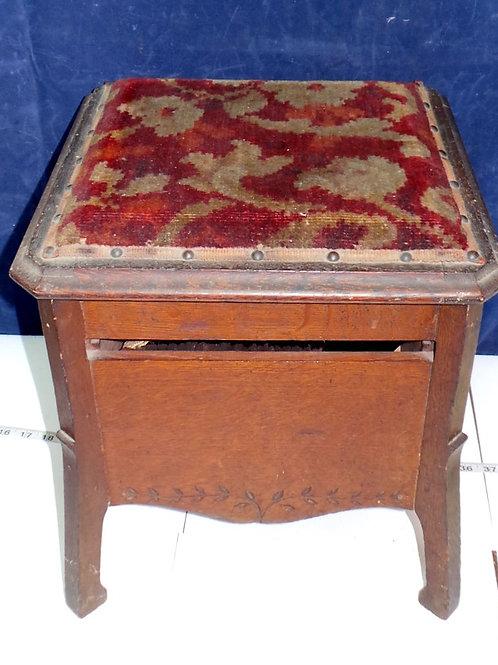 Early 1900s Shoeshine Box Set