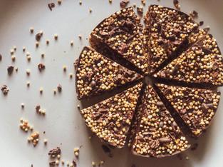 "PLANTFEED// ""SUPERNOVA Living Series // A vegan protein puffed quinoa flapjack .""// by Kelly Mason"