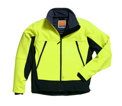 Yellow Ski Jacket