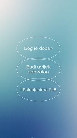 1 Sol 5:18