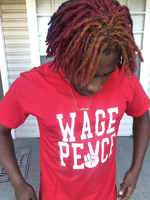 Wage peace t shirt