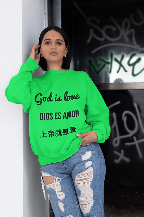 God is love Sweater