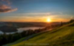 Walchwilerberg-unten-Sonnenuntergang-Zug