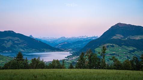 Zugersee - Schwyzeralpen - Rigi