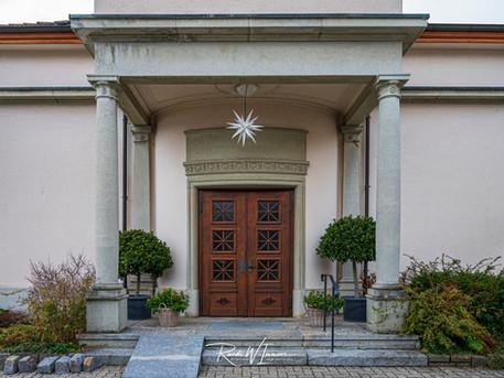 Kirchentüre Weggis anglikanisch_Z621059