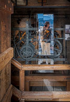 Ruedi Selbstportrait im Zytturm Luzern d
