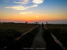 Sylt Rotes Kliff vor Sturmhaube Sonnenun