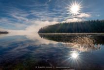 Schluchsee-wintermorgen-Raureif-Sonnenst