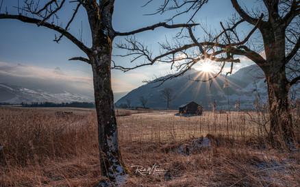 Lauerz Sonnenaufgang