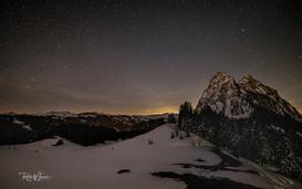 Sternenhimmel vor Milkyway Haggenegg Hag