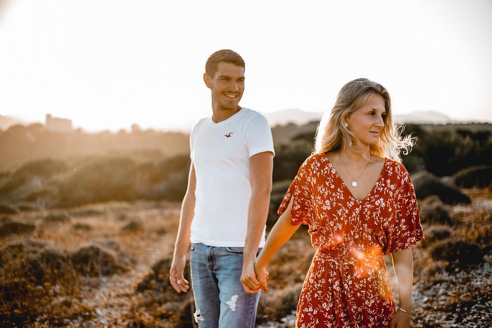 Verlobungsshooting Urlaub