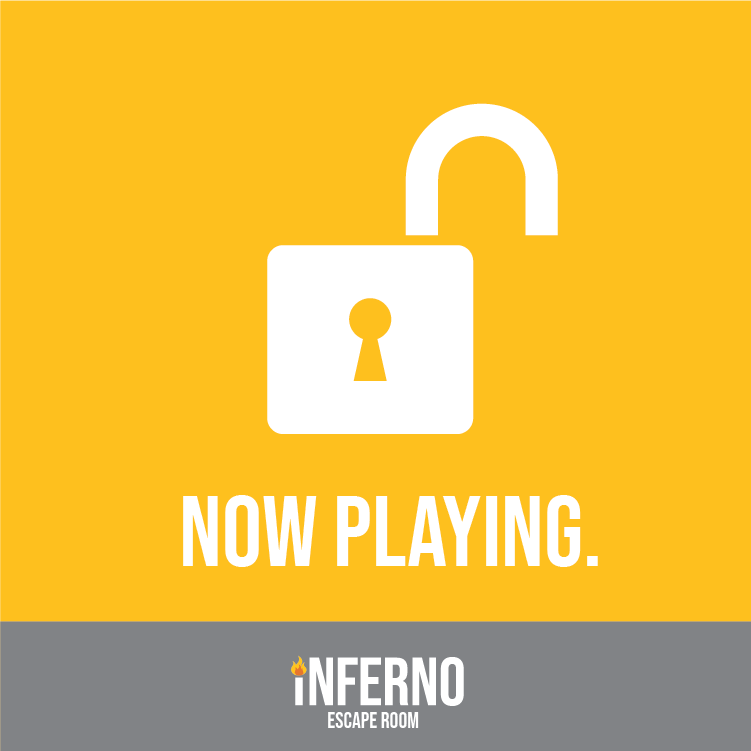 Inferno Escape Room Opening May 22