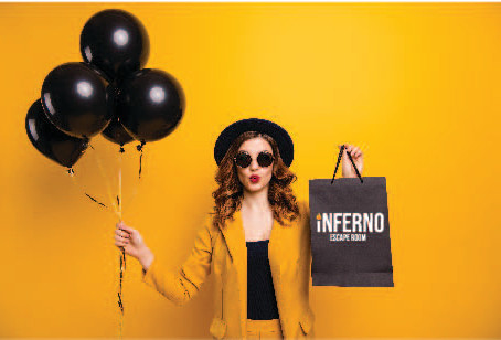 Inferno Escape Room Tempe Holiday Shopping Sale 2019