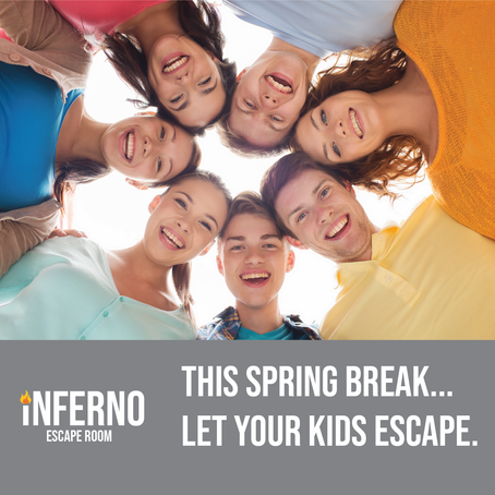"Let your teenager ""escape"" this spring break with an escape room"