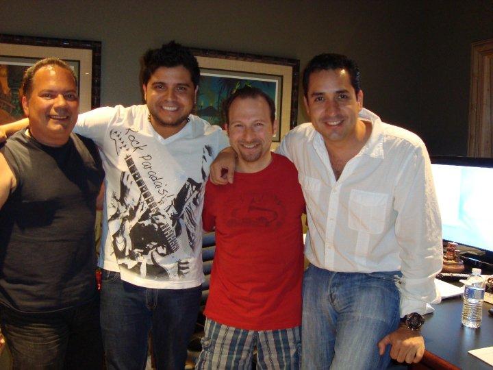 Julio Hernandez, Lee Levin, Alex G.