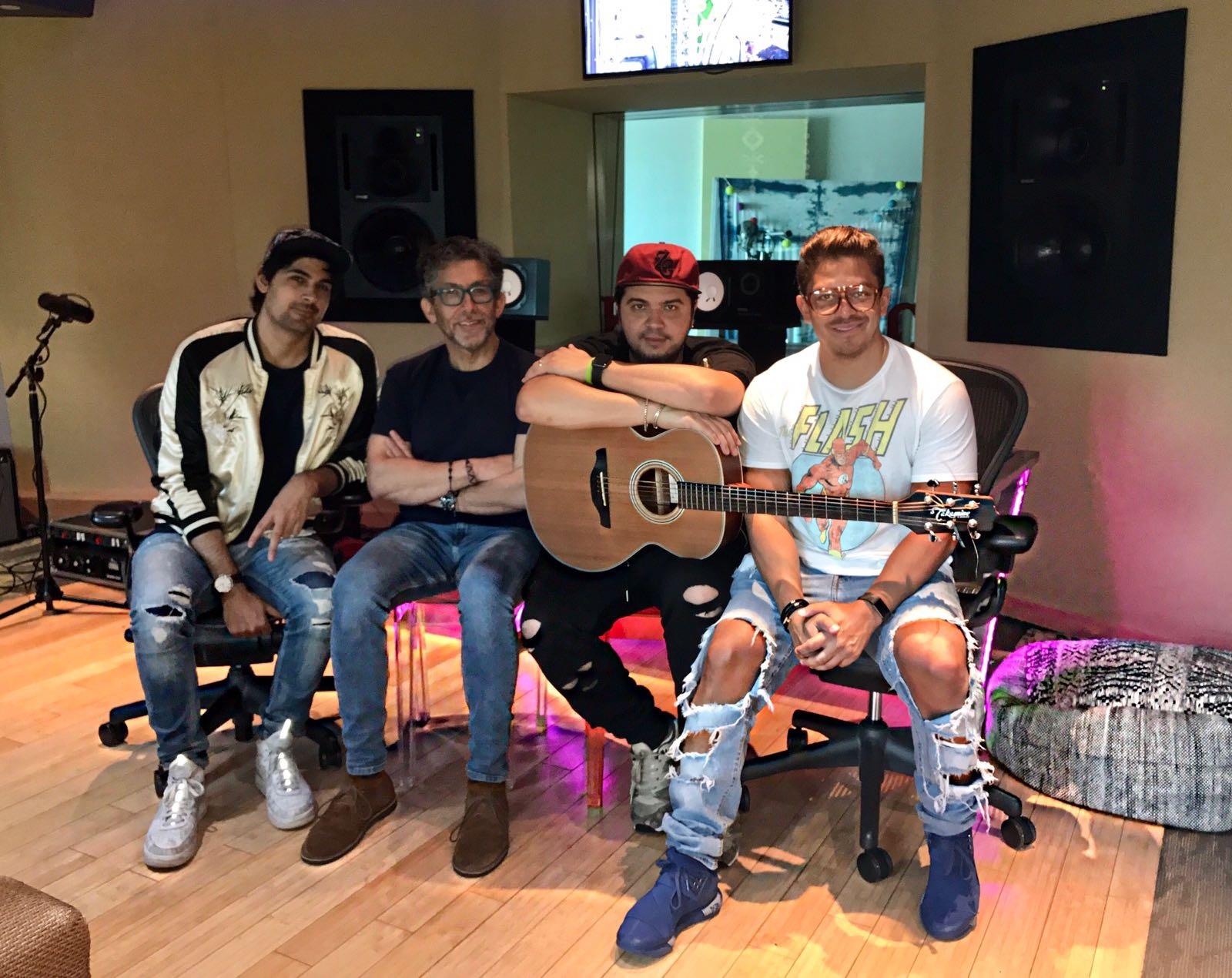 Jon, Yasmil, Frank, Oscarcito