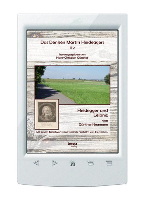 E-Book/ Das Denken Martin Heideggers II , Hans-Christian Günther (Hrsg)
