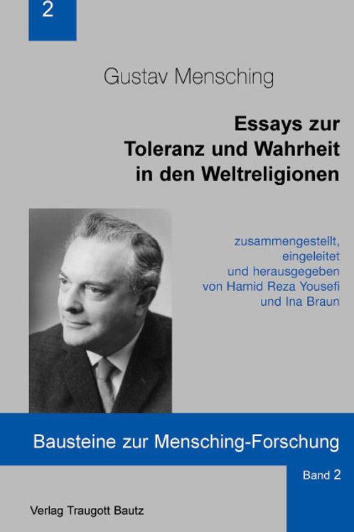 Essays zur Toleranz und Wahrheit in den Weltreligionen