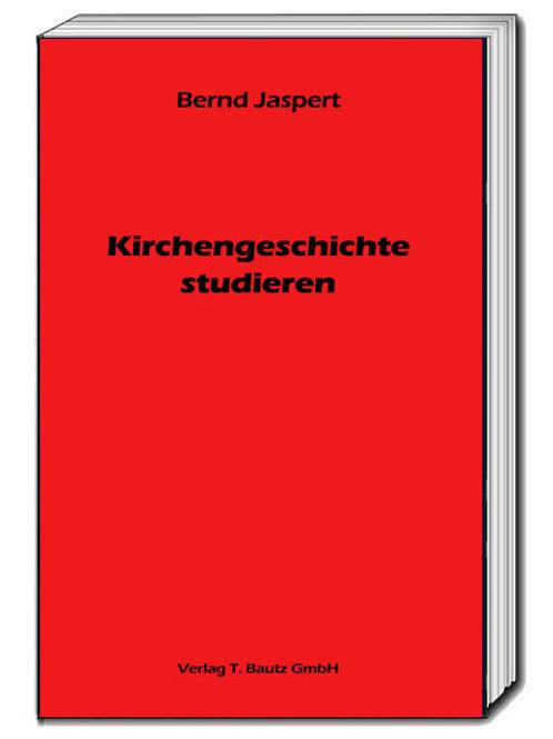 Bernd Jaspert - Kirchengeschichte studieren