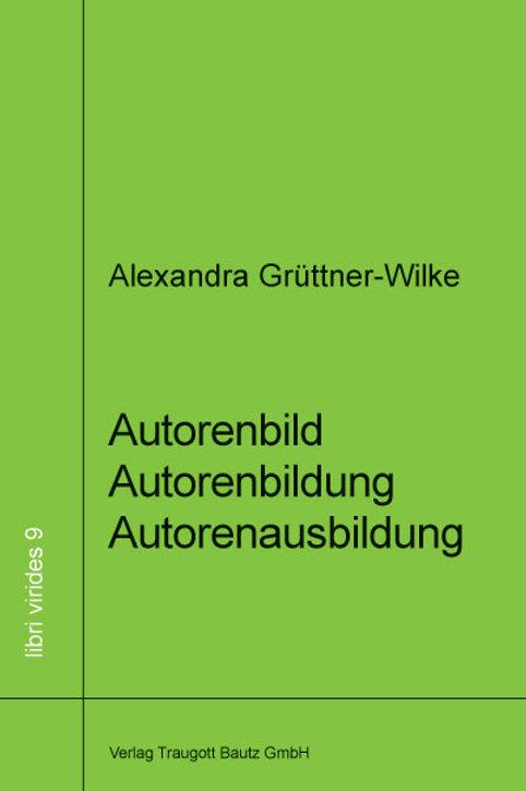 Alexandra Grüttner-Wilke - Autorenbild Autorenbildung Autorenausbildung