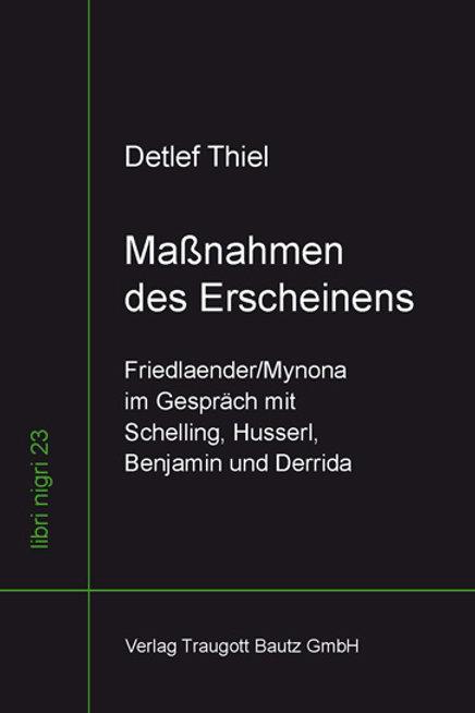Detlef Thiel - Maßnahmen des Erscheinens