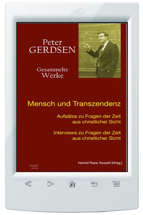 E-Book Hamid Reza Yousefi (Hrsg.) Peter Gerdsen Mensch und Transzendenz >Band 9