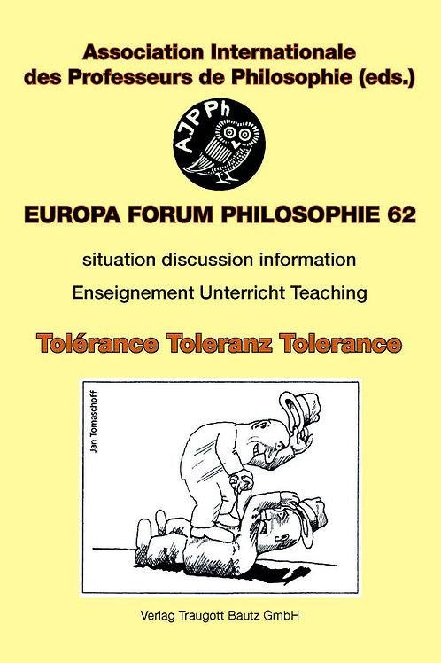 Gabriele Münnix, Werner Busch, Edgar Fuhrken (Hrsg.) Toleranz? Ja, aber wie?