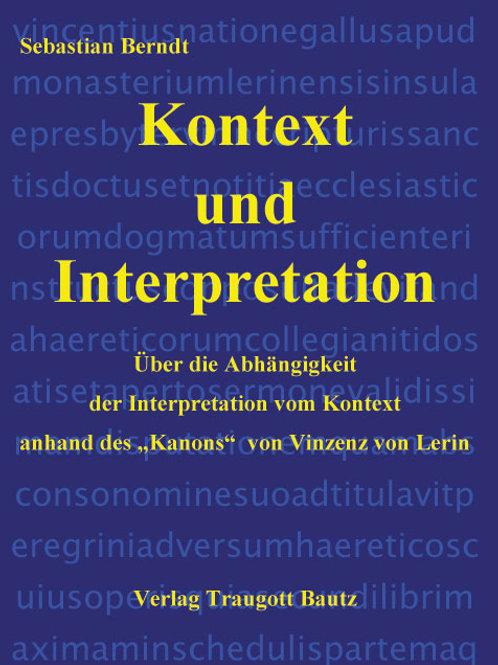 Sebastian Berndt - Kontext und Interpretation