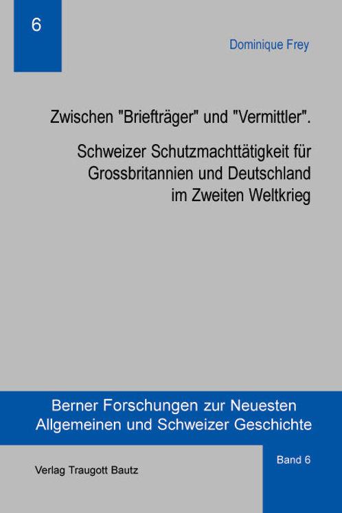 """Dominique Frey Zwischen """"Briefträger"""" und """"Vermittler""""."""