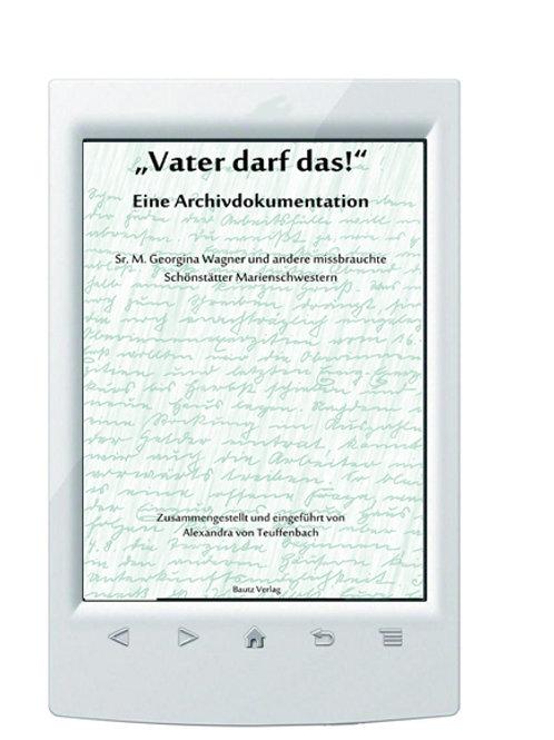 """E-Book/ Alexandra von Teuffenbach """"Vater darf das!"""""""