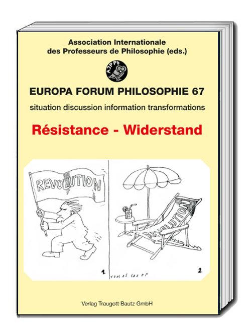 Gabriele Münnix, Rolf Roew, Bernd Rolf (Hrsg.) Résistance - Widerstand