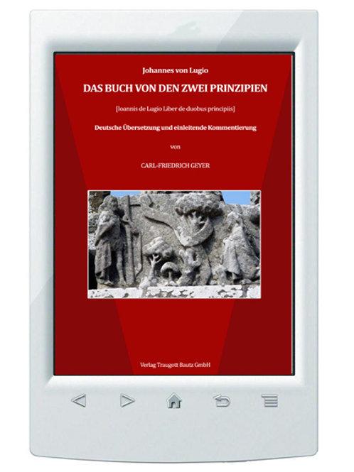 E-Book Johannes von Lugio Das Buch von den zwei Prinzipien