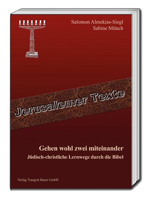Salomon Almekias-Siegl und Sabine Münch - Gehen wohl zwei miteinander