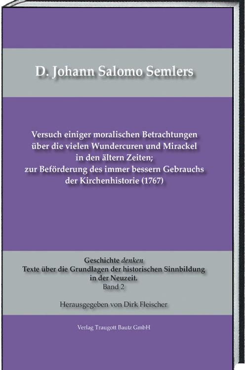 D. Johann Salomo Semlers