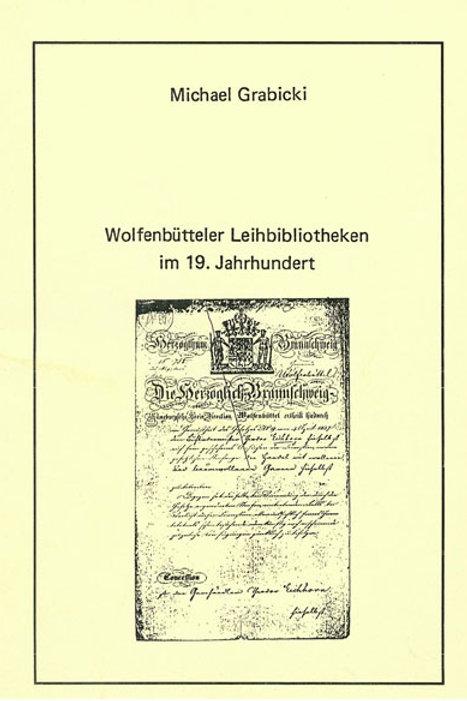 Wolfenbütteler Leihbibliotheken im 19. Jahrhundert
