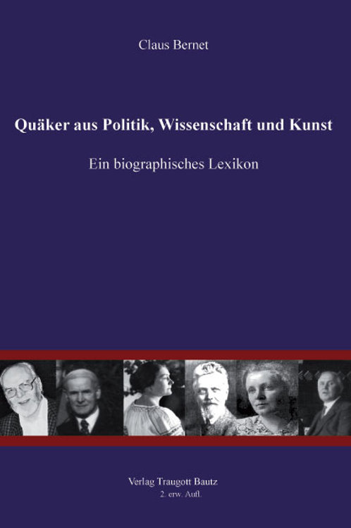 Quäker aus Politik, Wissenschaft und Kunst