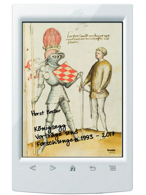 E-Book Horst Boxler Königsegg Vorträge und Forschungen 1993 - 2017